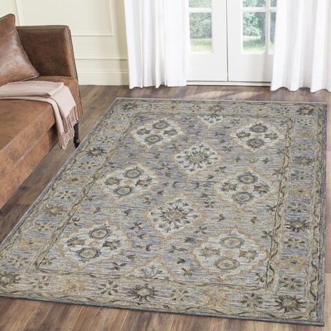 LR Home Modern Traditions Heritage Blue Indoor Area Rug ( 8' x 10' ) - 8' x10'