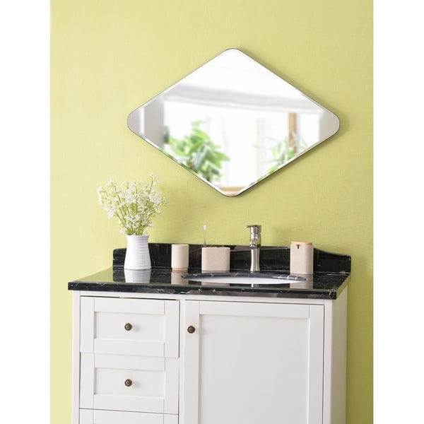 Pleasant Roxy Diamond 35 Wall Mirror Download Free Architecture Designs Osuribritishbridgeorg