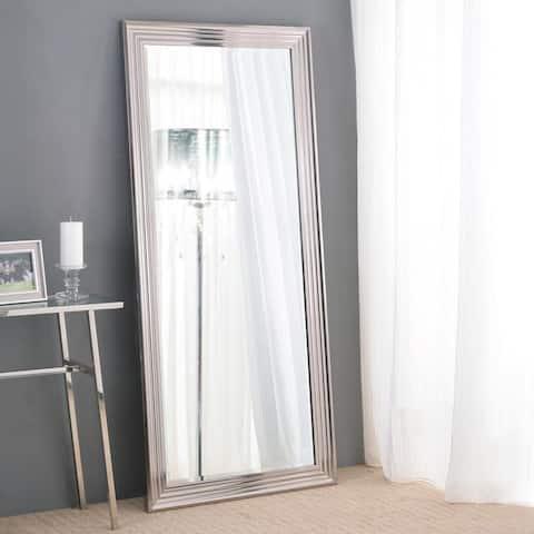 Isabella 66-inch Chrome Leaner Mirror