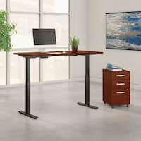 Move 60 Series by 60W Height Adjustable Standing Desk with Storage