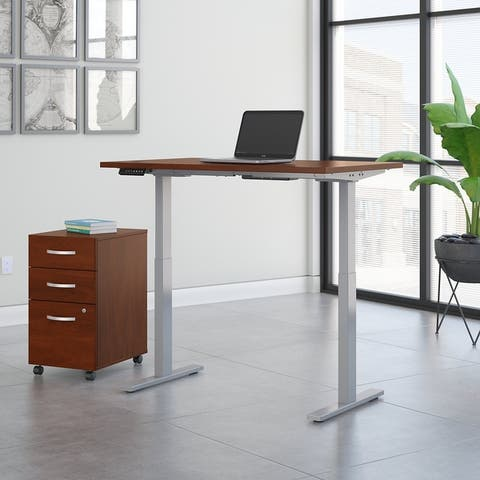 Move 60 Series by 48W Height Adjustable Standing Desk with Storage