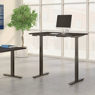 Move 60 48W Height Adjustable Desk, Storm Gray & Black