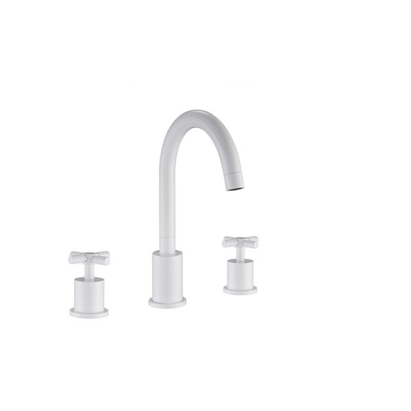 Shop Ancona Prima 3 White Bathroom Faucet On Sale Ships To
