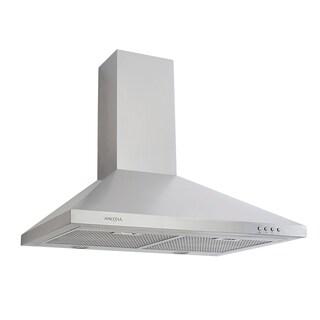 "WPP530 - Pyramid LED 30"" Range Hood - Silver"