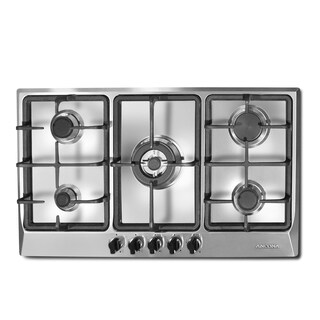 Ancona Elite 34 In. 5-Burner Gas Cooktop