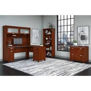 Bbf Enterprise Double Pedestal Desk With Hutch Free