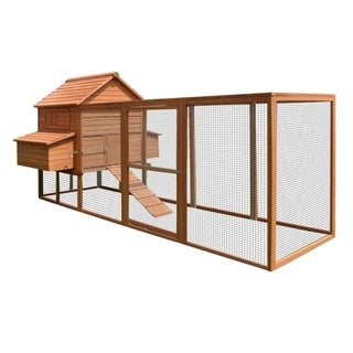ALEKO Chicken Hen Coop Cage Bunny Hutch Small Pet House