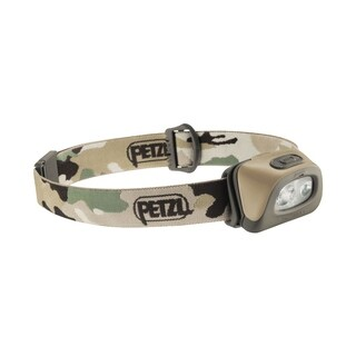 Petzl TACTIKKA + 250 Lumens Headlamp Camo