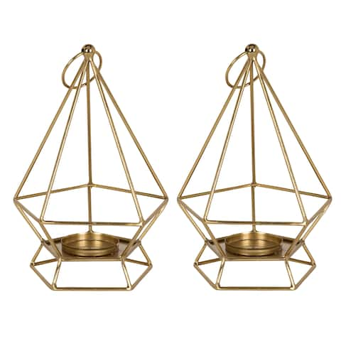 Kate and Laurel Stroud Candle Holders, 2 piece set