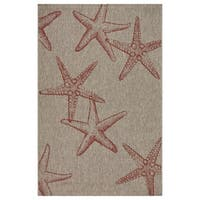 LR Home Captiva Sunset Cay Indoor/Outdoor Area Rug - 7'9 x 9'6