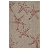 LR Home Captiva Sunset Cay Indoor/Outdoor Area Rug - 5' x 7'