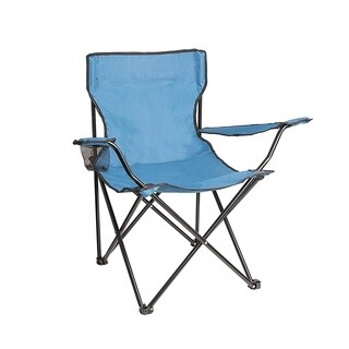 ALEKO Foldable Camping Beach Chair Lounge Patio Lawn Garden Chair