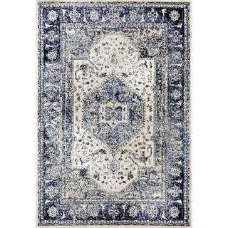 Persian Rugs 2041 Distressed Oriental Area Rug