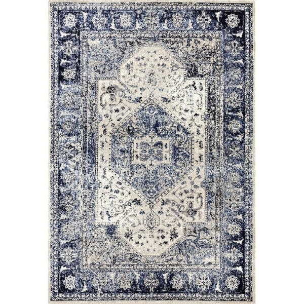 Persian Rugs 2041 Distressed Oriental Area Rug On