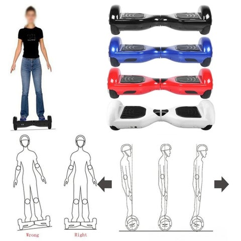 "6.5"" Self Balancing Scooter / Hoverboard Smart Two Wheel Self Balancing Electric Scooter"