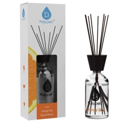 Pursonic Reed Diffuser Orange Sky - Clear
