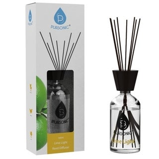 Pursonic Reed Diffuser Lime Light - Clear