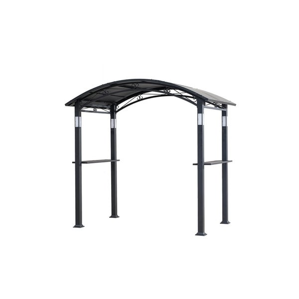 Sunjoy LED and Music Hardtop Grill Gazebo (5' x 8')