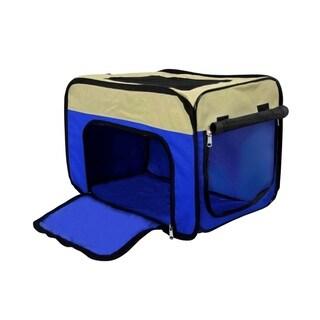 ALEKO Medium Indoor Outdoor Portable Pop Up Dog Crate Home