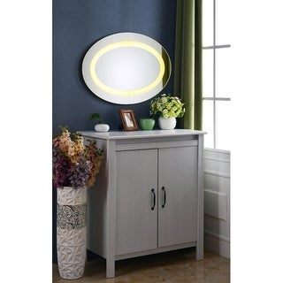 Shop Harmony 48x24 Lighted Mirror Free Shipping Today