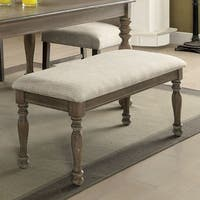 Furniture of America Bruni Transitional 45-inch Accent Bench