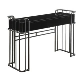 Furniture of America Ryan Industrial Style Metal Vanity Table - N/A