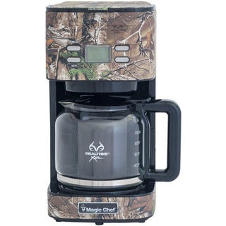 Magic Chef 12-Cup Drip Coffee Maker with Authentic Realtree Xtra Camouflage Pattern