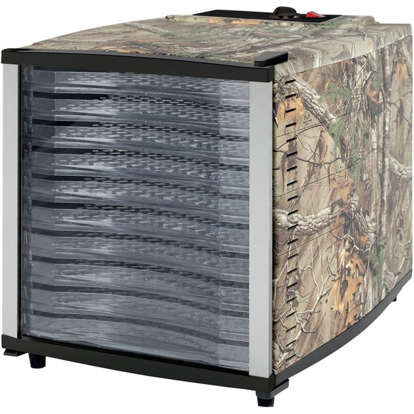 Magic Chef 10-Tray Food Dehydrator with Authentic Realtree Xtra Camouflage Pattern 33227393
