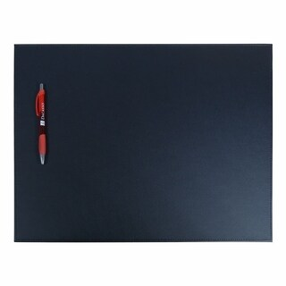Black Leatherette Conference Table Pad
