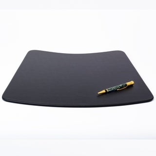 Black Leatherette Conference Pad for Round Table