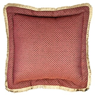 Sherry Kline Tangiers Red Flanged 30-inch European Pillow