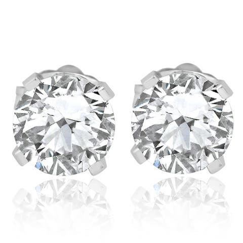 9894cf18c Buy Bliss Diamond Earrings Online at Overstock | Our Best Earrings Deals