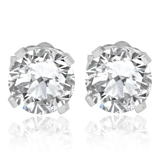 Pompeii3 14k White Gold 3/4 ct TDW Diamond Studs