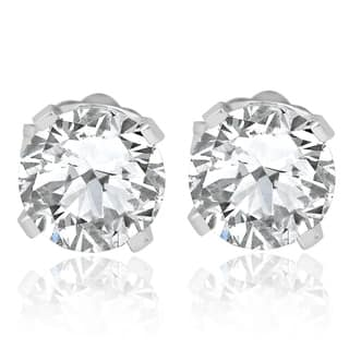 698dc4fa358 Buy Fine, Stud Diamond Earrings Online at Overstock | Our Best ...