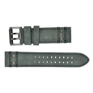 Luminox 1820 Grey Leather Strap