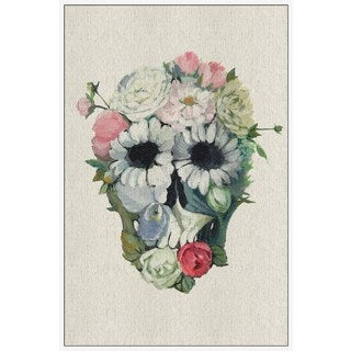 Marmont Hill - Handmade Fancy Floral Floater Framed Print on Canvas