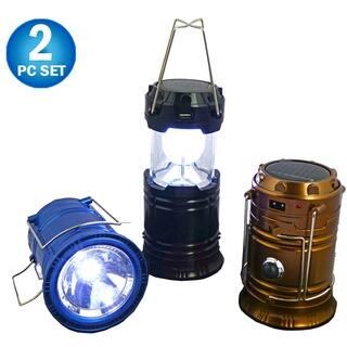 Shop Hand Operated Crank Lantern Set Of 2 Free