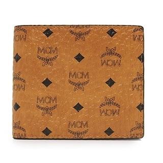 MCM Men's Claus Small Cognac Wallet