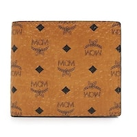 MCM Men's Claus Small Cognac Wallet