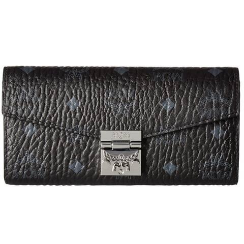 MCM Patricia Visetos Large Wallet
