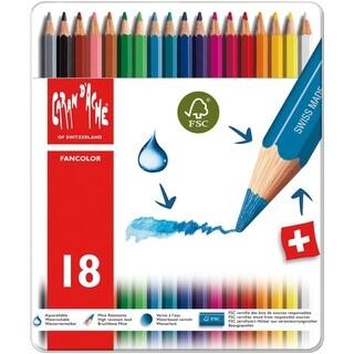 Caran D'Ache Fancolor Color Pencils 18 Color Assortment