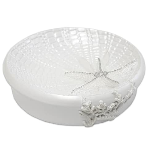 By The Sea Soap Dish- White