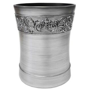 Murano Waste Basket - Silver