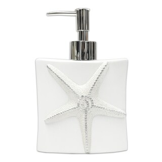 By The Sea Lotion/Soap Dispenser- White