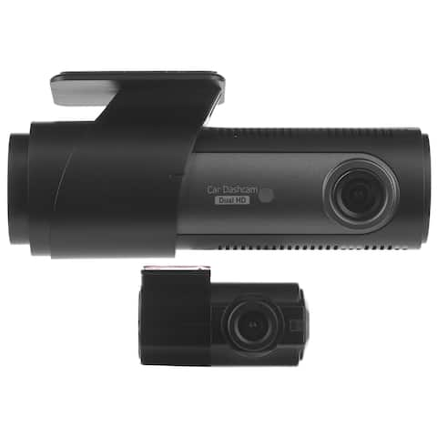 LG Innotek's LGD323 Sleek, Dashcam With Front 128°, Rear 120° Angle Video Recording and Built in Car Battery Management System