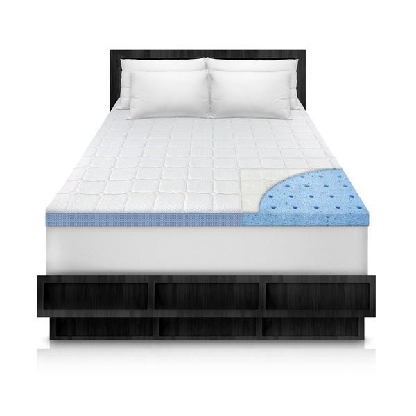 Shop Swisslux Luxury Euro Top 3 Inch Quilted Mattress