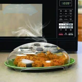 Magnetic Microwave Anti-Sputtering Protective Cover