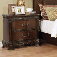 Furniture of America Marcelle Traditional 2-drawer Nightstand
