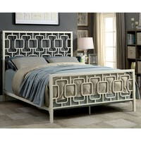 Furniture of America Vernel Contemporary Metal Bed