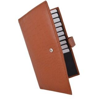 AFONiE Croco RFID Long Secure Credit Card Holder
